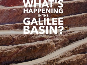 What's Happening in the Galilee Basin