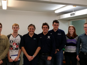 AusIMM Southern Queensland Student Chapter Tour of Core Resource's Laboratory