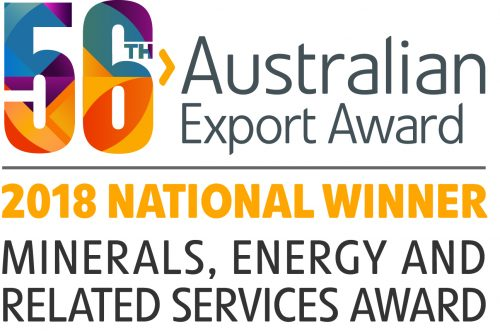 Austrade National Winner Minerals Energy