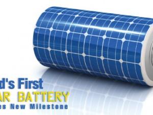 World's First Solar Battery Reaches New Milestone