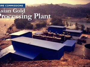 Core Commissions Asian Gold Processing Plant