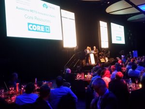 Core Resources awarded the Austmine Innovation Award in METS for 2017