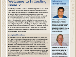 hrltesting – Newsletter Oct 2008