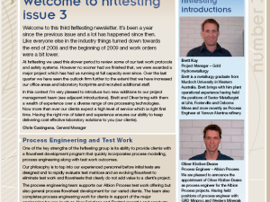 hrltesting – Newsletter Oct 2009