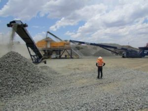 Site Based Ore Sorting Trial