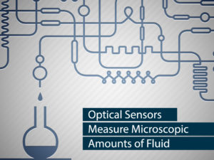 Optical Sensors Measure Microscopic Amounts of Fluid