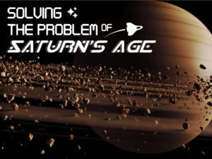 Solving the Problem of Saturn's Age