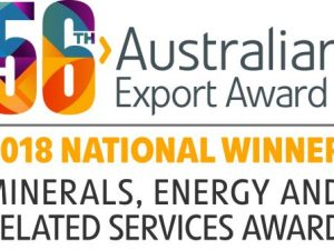 Core's a category winner at the 56th Australian Export Awards