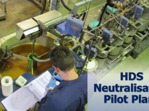 HDS Neutralisation Pilot Plant