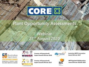 Core Webinar Series: Plant Opportunity Assessments