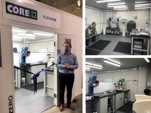 Core opens new flotation laboratory